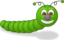 green,worm,insect,smile,animal,happy,caterpillar,media,clip art,public domain,image,png,svg