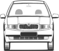 fabia,front,view