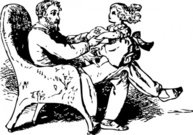 father,daughter,playing,clip