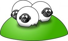 simple,cartoon,sheep,animal,colour,funny