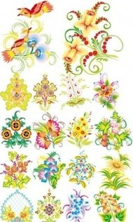 flower,pattern,colorful,design