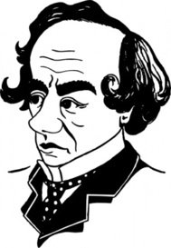 benjamin,disraeli,cartoon,caricature,man,person,politics,history,britain,prime minister,famous-people,media,clip art,externalsource,public domain,image,svg