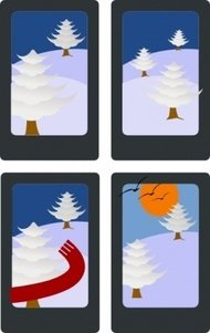 hanafuda,matsu,january,cartoon,color,card,game,winter,tree,media,clip art,public domain,image,png,svg