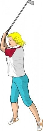 golfer,cartoon,line art,people,man,colour,person,golf,sport