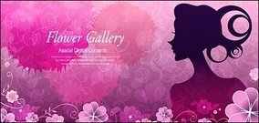flower,beauty,vector,material