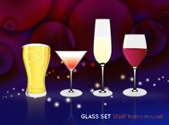 glass,set,wine,beer,martini,party,food,drink
