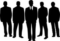 black,men in black,silhouette,people,manager,team,media,clip art,public domain,image,png,svg