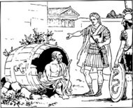 diogenes,alexander,history,ancient,greece,greek