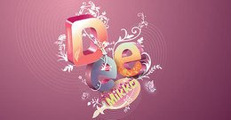 mixed,gorgeous,composition,background,abstract,text,letter,word,leaf,colorful
