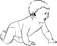 infant,crawl