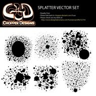 chopperdesigns,splatter,vector