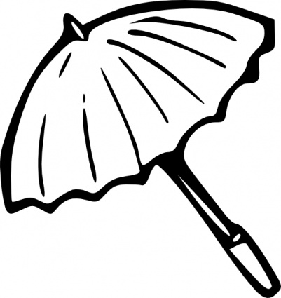 Umbrella Outline Clip Art 389540 on modern home design