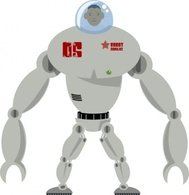 robot,cartoon,color,scifi,media,clip art,public domain,image,png,svg