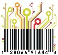 colored,circuit,barcode