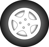 wheel,chrome,rim,wheel car,media,clip art,public domain,image,svg,png