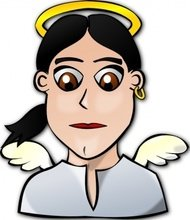 angel,face,cartoon