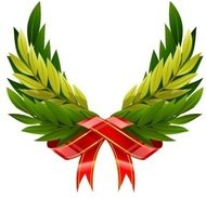 wing,wreath,from,green,leaf