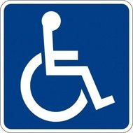 handicapped,accessible,sign