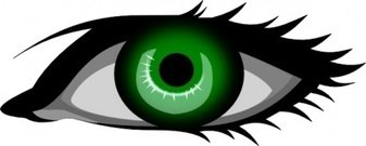 green,remix,eye,left eye,human eye,clip art,media,public domain,image,svg