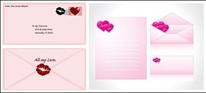 love,envelope,material