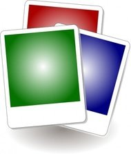gallery,icon,photo,polaroid,colour,media,clip art,how i did it,public domain,image,png,svg