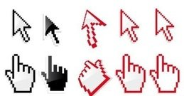 hand,arrow,cursor
