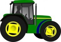tractor,framing,machine,equipment,vehicle,media,clip art,public domain,image,svg