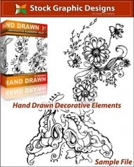 hand,drawn,decorative,element,sketchy,handrawn,floral,ornament,sample,ornament,sketchy decorative,handrawn drawn