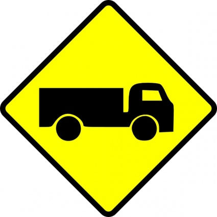 Image clipart camion attention Leomarc clip-arts, cliparts gratuits ...