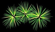 green,yellow,firework,night,celebration,party