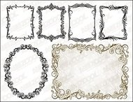 practical,european,lace,material,vintage,frame