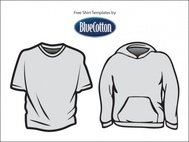 blue,cotton,shirt,template