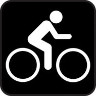symbol,bike,park,map,pictograph,sign,cartography
