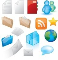 icon,style,graphics,web,social,rss,e-mail,msn,folder,internet,star,home,world,file,note,directory,message,button,communication,network,online,symbol,web 2.0,website