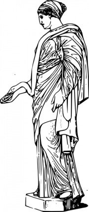 hygieia,ancient,greek,art,mythology,health,sculpture,statue,meyers,media,clip art,externalsource,public domain,image,png,svg,wikimedia common,wikimedia common