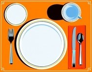 come,dispongono,posate,food,meal,dish,plate,cutlery,table