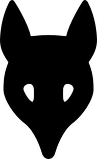 wolf,head,silhouette,wolf head scout animal,outline
