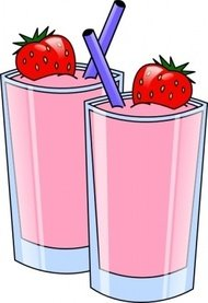 strawberry,smoothie,drink,beverage,cup,clip