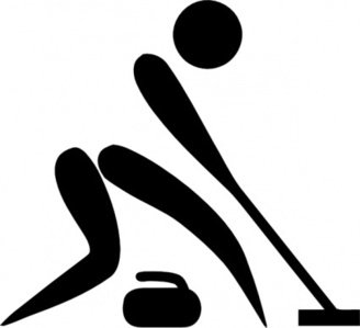 Olympic Sports Curling Pictogram clip art clip arts, free ...
