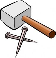snarkhunter,hammer,nail,crucifiction,passion,good friday,christ,christianity,color,tool