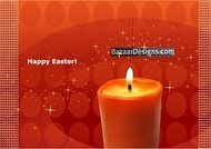 easter,background,with,candle,star