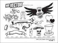 super,ultra,deluxe,volume,1,shield,wing,bone,hat,scary,mushroom,key,heart,freebie,vector,pack,with,wing,bone,key