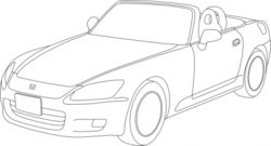 honda,s2000,outline
