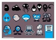 little,thing,game,console,water,drop,animation,character,cartoon,crazy,bear,octopus,console,cartoon