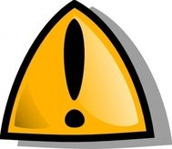 warning,sign,orange,rounded,media,clip art,public domain,image,png,svg