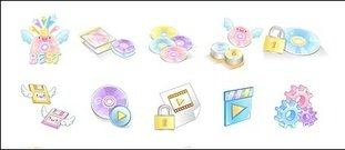 sweet,video,icon,vector,material