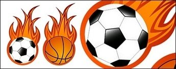 basket-ball,flamme