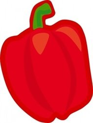 vegetable,nature,color,cartoon,food,plant,tomato,carrot,pepper,media,clip art,public domain,image,png,svg