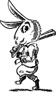 hare,shotgun,cartoon,caricature,animal,rabbit,hunting,hunt,weapon,media,clip art,externalsource,public domain,image,svg