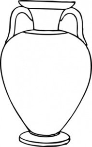 outline,greek,amphora,vase,container,media,clip art,externalsource,public domain,image,png,svg